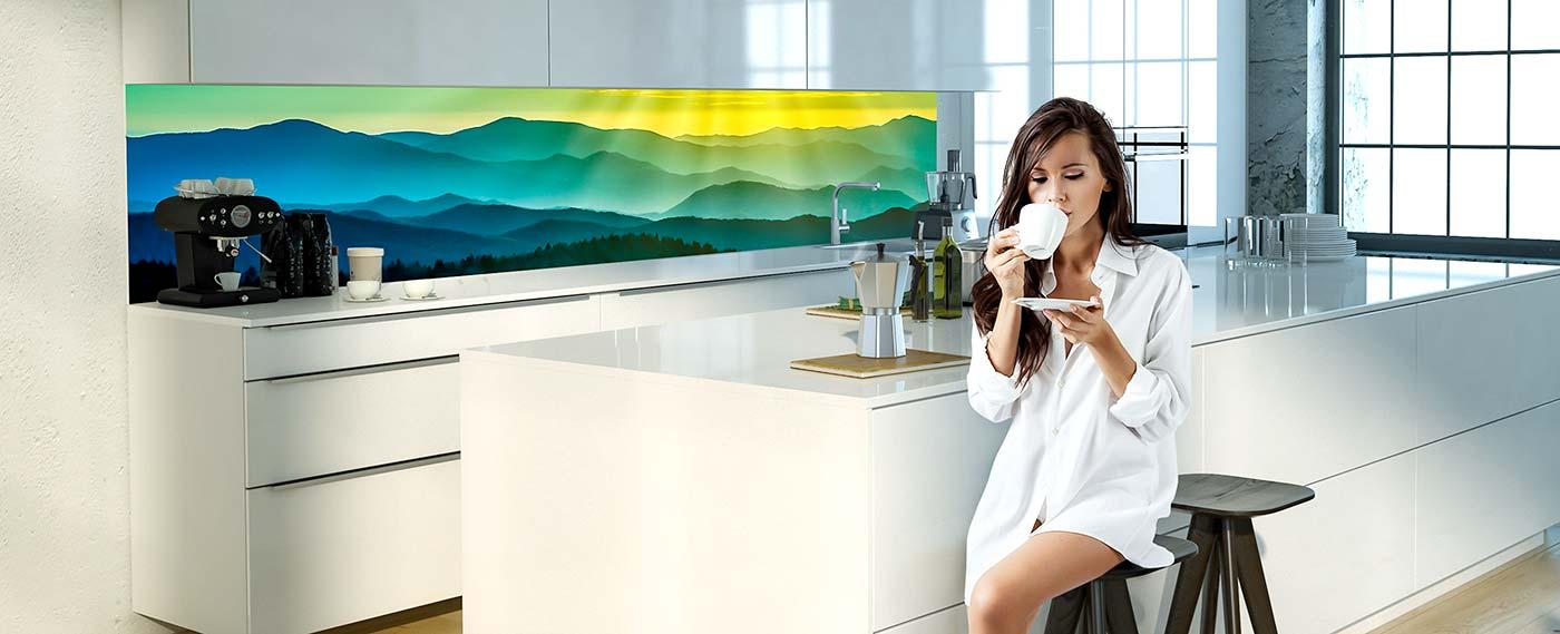 Kuchenruckwand Aus Glas Mit Eigenem Motiv Kaufen